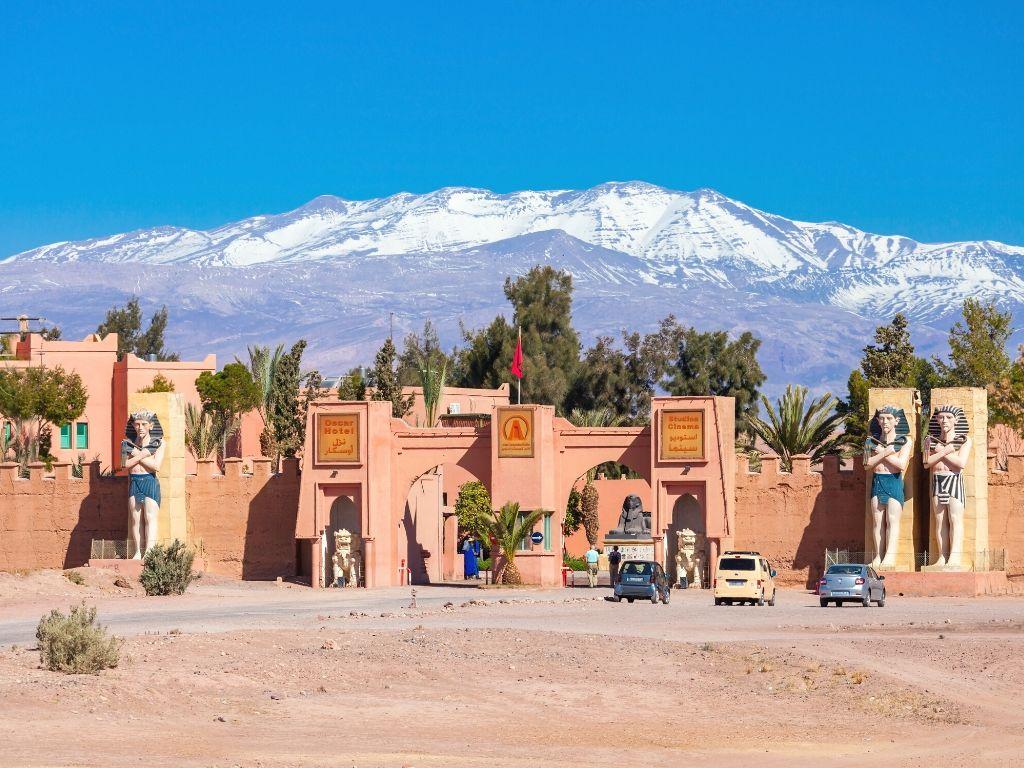 Atlas Studios em Ouarzazate