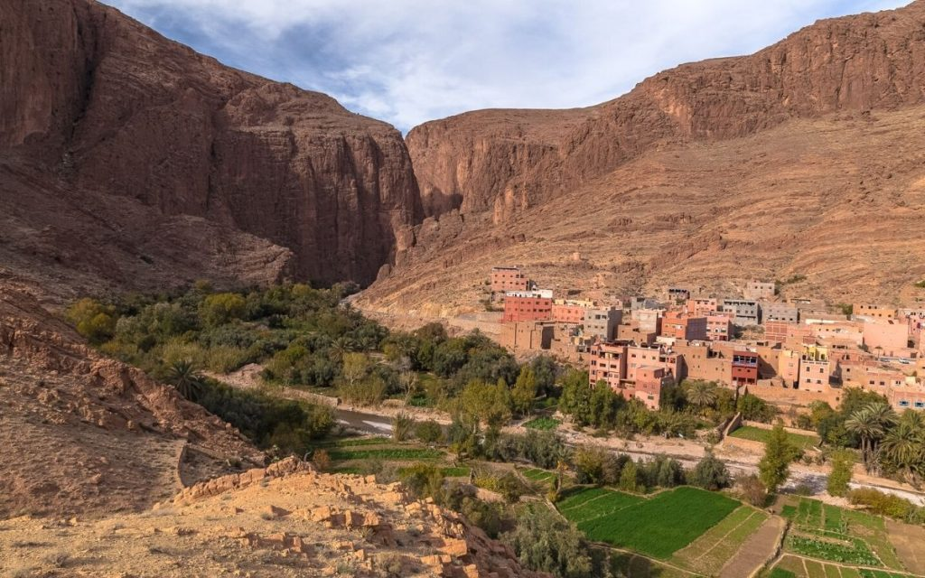 Gorges du Todra Marrocos