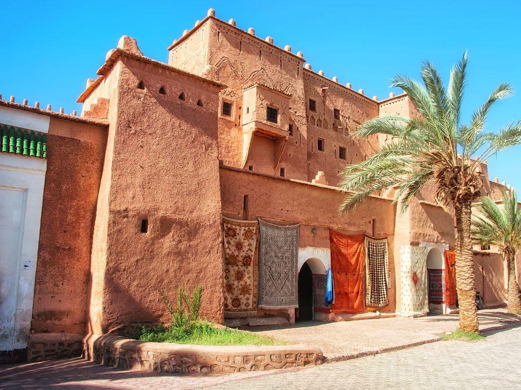 Kasbah Taourirt em Ouarzazate