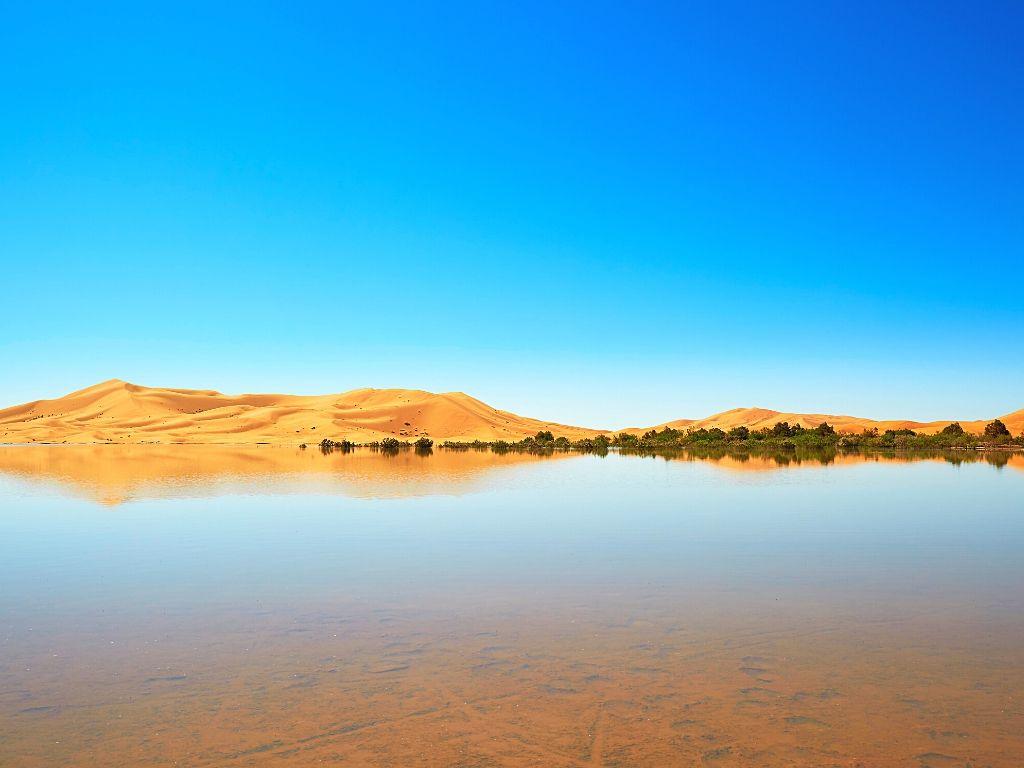 Lago Merzouga (sazonal)