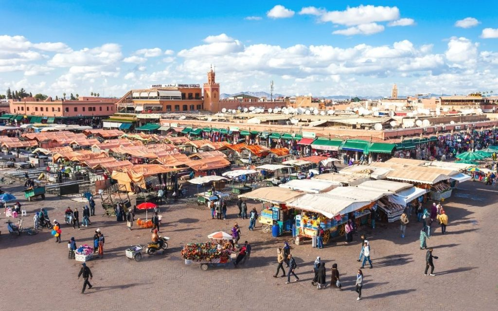 Marraquexe em Marrocos