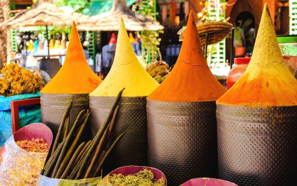 Marraquexe souk Marrocos