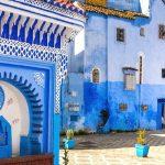 Norte a Sul desde Tanger em Marrocos