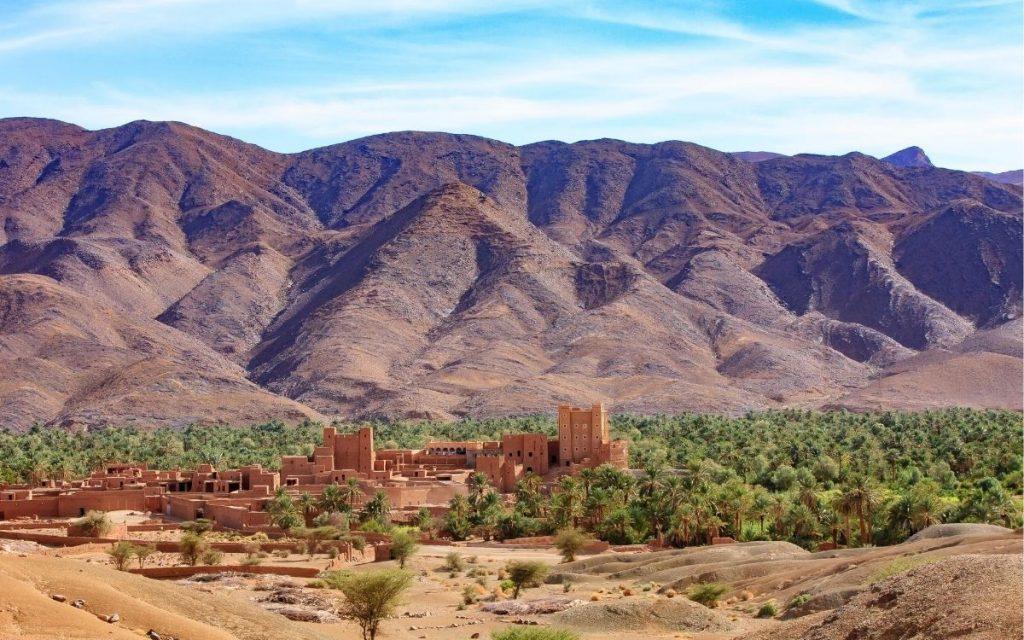 Vale do Draa Marrocos