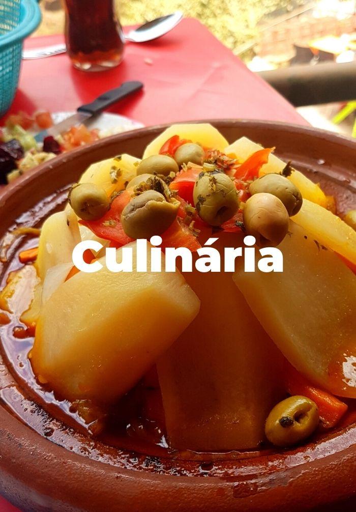 Culinária Marrocos