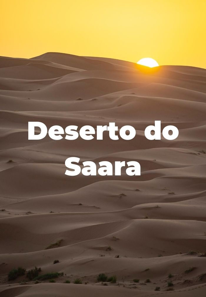 Deserto do Saara Marrocos