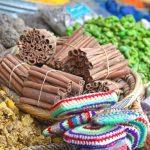 Há muita variedade de coisas para comprar no Marrocos