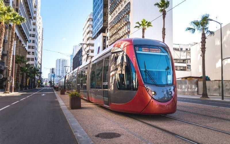 Que transportes existem no Marrocos