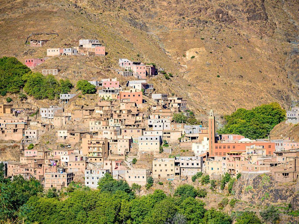 Toubkal desde Marraquexe