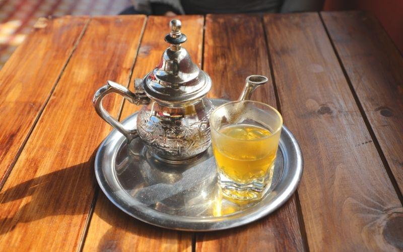 chá marroquino